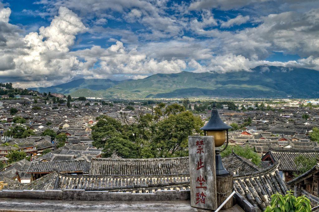 chinese, city, cityscape