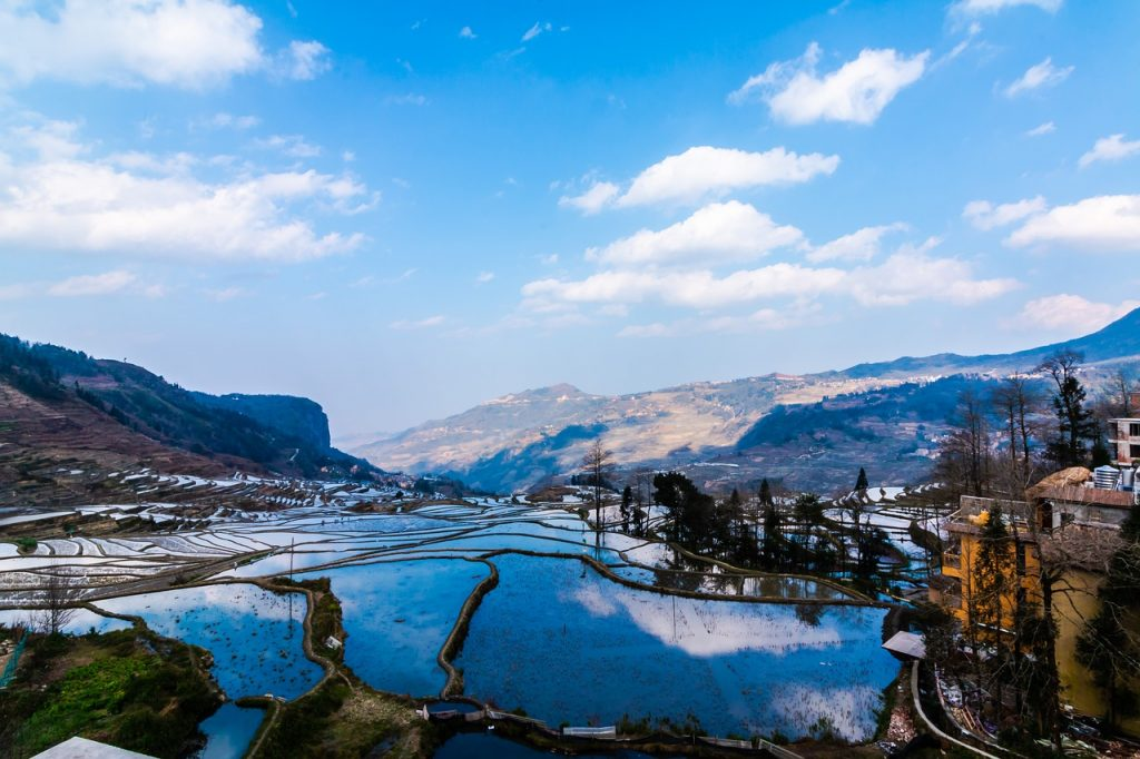 china, yunnan, mountain
